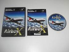 AIRBUS X Pc DVD Rom Add-On Microsoft Flight Simulator Sim X FSX FS
