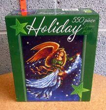 GALAXY ANGEL jigsaw puzzle Christmas NWT space dust Ceaco 2007