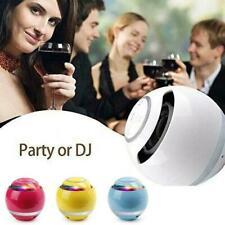 Mini Wireless LED Bluetooth Speaker Portable Super USB/TF/FM Radio Bass L4H0