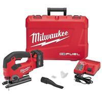 Milwaukee 2737-21 M18 FUEL 18-Volt Heavy Duty Cordless D-Handle Jig Saw Kit