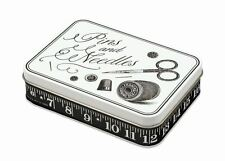 Alice Scott Pins & Needles Tin - Cute tin for sewing needles and pins -Gift Idea