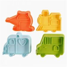 Vehicle Transport Detailed Plunger Cookie Cutters 4 pc Set