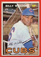 1967 Topps #315 Billy Williams LOW GRADE FILLER CREASED Chicago Cubs FREE SHIP