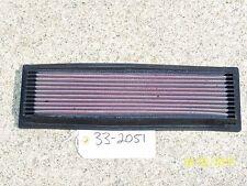 K&N AIR FILTER HI-PERFOMANCE REUSABLE WASHABLE PN: 33-2051