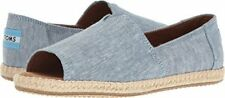 TOMS Alparagata Women's Open Toe Espadrilles Retail $64 NEW w/out Box