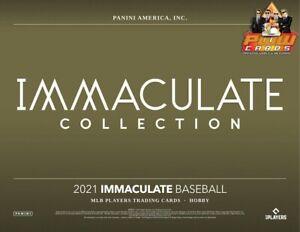 NEW YORK METS 2021 Panini Immaculate Baseball 4-Box Half Case Break #9