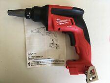 New Milwaukee Fuel 2866-20 18 Volt 18V Cordless Brushless Drywall Screwgun Drill