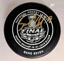 Sammy Blais St. Louis Blues Signed 2019 Stanley Cup Official Game 7 Puck