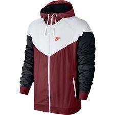Nike NSW Windrunner Jacket Red White Black Crimson Sz 2XL 727324-678