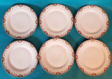 SIX ASSIETTES PLATES EN PORCELAINE DE LIMOGES  DE CHEZ RAYNAUD Ref 292830425538