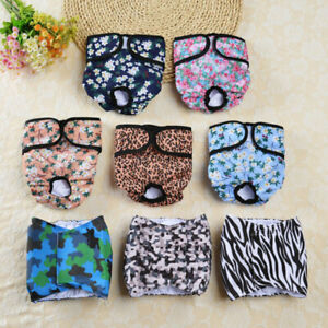 Male Female Pet Dog Puppy Physiological Pants Sanitary  Diaper Shorts Underwear
