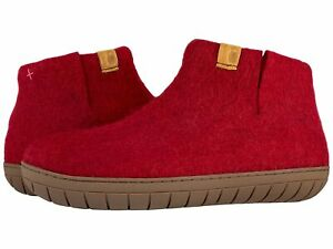 Adult Unisex Slippers Baabushka Bootie with Rubber Sole