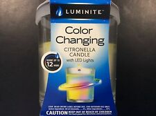 Luminite Color Changing Citronella Votive Candles