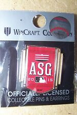 2015 Cincinnati Reds AS All-Star Game lapel pin MLB side w