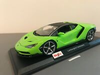 Maisto 2020 Lamborghini Centenario Special Edition Green 1:18 New In Box #31386