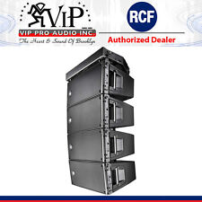 """RCF HDL 20-A ACTIVE LINE ARRAY 1400W / Two Powerful 10"""" DJ / Club Speaker (FOUR)"""