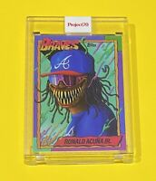 Topps Project70 - 1990 Ronald Acuna Jr by Alex Pardee - Atlanta Braves #34 🔥