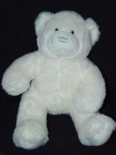 "Build a Bear 15"" Plush Soft White w/ Blue Nose Wedding Groom or It's a boy Bear"