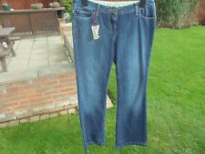 BODEN  low rise flared faded look jeans size 12 long