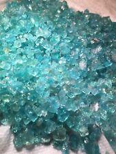 1lb Neon Blue Green Apatite Gem Crystals Wholesale Bulk Rough Natural
