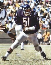 DICK BUTKUS 8X10 PHOTO CHICAGO BEARS PICTURE NFL FOOTBALL VS RAMS
