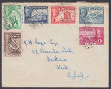 1949 Gold Coast Multi-Affranchissement De Mers, Hants, Angleterre