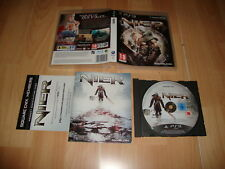 NIER DE SQUARE-ENIX PARA LA SONY PLAY STATION 3 PS3 BUEN ESTADO USADO COMPLETO