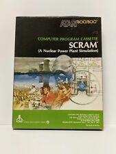 Vintage Atari 400/800 Scram CIB