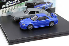 Fast and Furious 2-Car Set Chevrolet Chevelle SS und Nissan Skyline GT-R 1:43 Gr