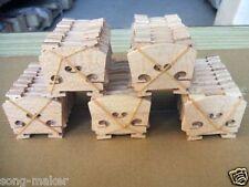 4/4 violin bridge Fine maple 80 pcs laser cut high quality violin parts Yinfente