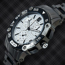 Gianfranco Ferré Swiss Made Chronograph Mens Watch / MSRP $2,159.00