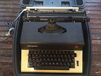 Vintage Olympiette Typewriter with Case Model SEP
