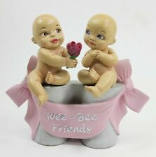 "Marie Osmond ""Wee Bee Friends"" Resin Babies Figurine Sculpted By Ping Lau"