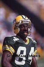 NFL Sterling Sharpe Green Bay Packers 84 1990s Original 35mm Slide Football!!!