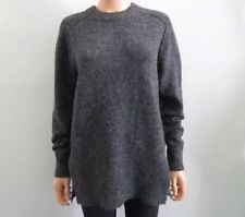 Isabel Marant Etoile Gray Alpaca Wool Oversized Fit Sweater Sz FR 38