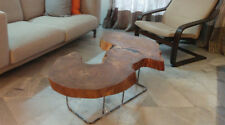 Beautiful Salvaged Angsana Live Edge Coffee Table