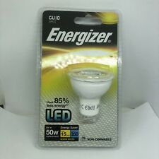 Energizer S8824 LED GU10 5w Equivalent to 50w Halogen Warm White Non-Dimmable
