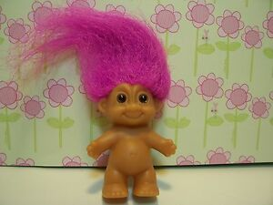"""NAKED BABY - 2"""" Russ Troll  Doll - NEW IN PACKAGE"""