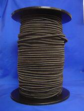 Gummilitze 8 mm schwarz (PP-Multifilmantel)