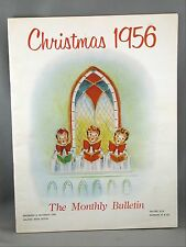 Christmas 1956 Monthly Bulletin Maritime Telegraph and Telephone Halifax