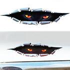 Adesivo sticker OCCHI PANTERA auto moto camion car tuning occhio eye 3D 38x9.5cm