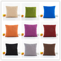 Solid Color 3D Quilted Leave Sofa Throw Pillow Case Cushion Cover