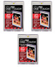 (3 PACK) of Ultra Pro One Touch Magnetic Trading Card Holders 35pt Size w/ UV