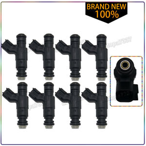 SET OF 8 OEM FUEL INJECTOR FOR 2000-2002 FORD Lincoln LS Thunder 3.9L V8 242Cu