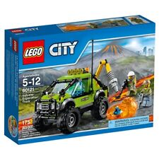 New Lego City 60121 Volcano Exploration Truck