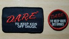 PARCHES PARA ROPA D.A.R.E. TO KEEP KIDS OFF DRUGS