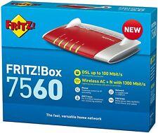 AVM FRITZ!Box 7560 WLAN AC + N Router VDSL ADSL ADSL2+ Modem - Mega-Neupreis!!