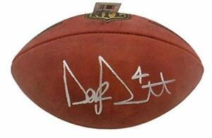 Dak Prescott Autographed Dallas Cowboys NFL Authentic Football JSA 19218