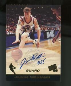 1998 Press Pass Jason Williams Auto Autograph RC Rookie