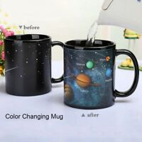 Ceramic Cups/Mug with Changing Color Reveals the Solar System